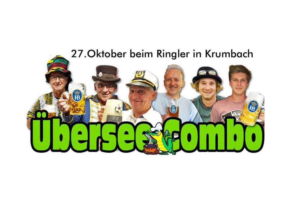 27. Oktober Übersee Combo im Sudhaus
